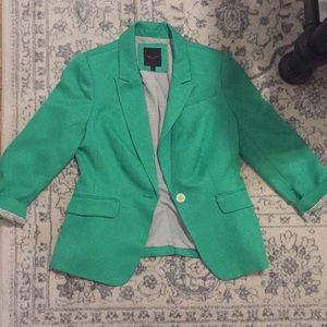 The limited green blazer
